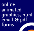 online advertising & animated graphics, html email & editable forms